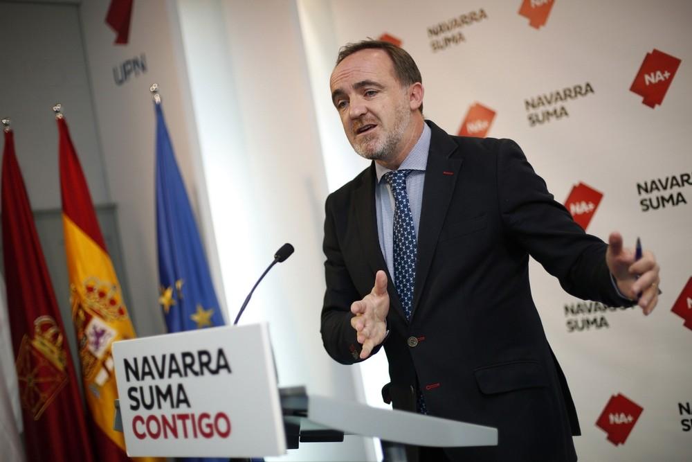 Javier Esparza (Na+) habla de