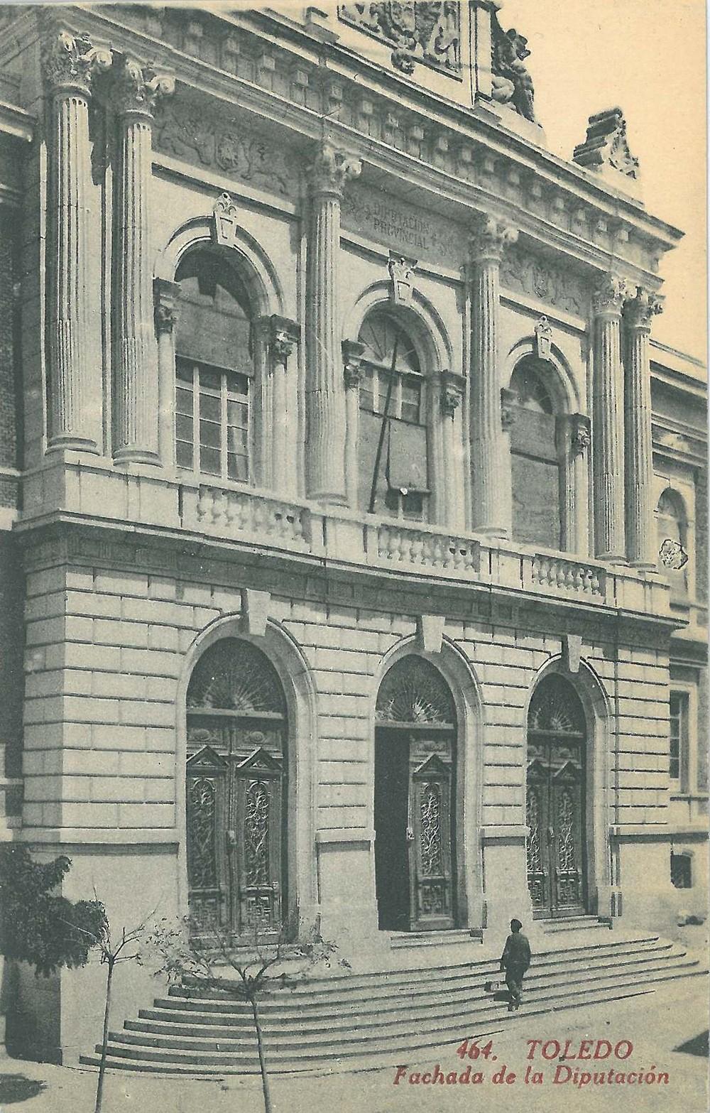 Varias postales de la ámplia aparición en Toledo en la Serie General de C. A. y L.