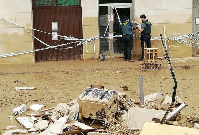 Desalojado un edificio en Tafalla por riesgo de derrumbe