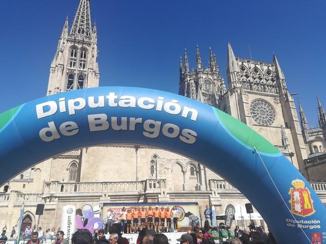 La Catedral da la salida a la Vuelta a Burgos