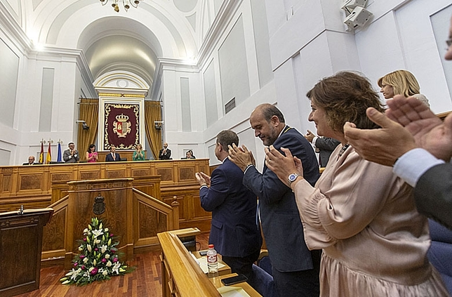 Bellido: «Aquí venimos a parlamentar» Yolanda Lancha
