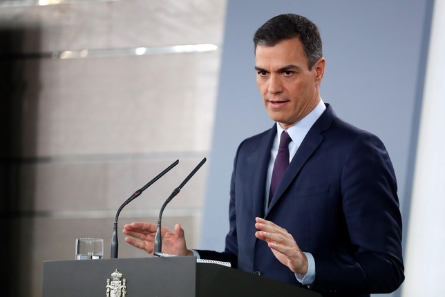 Pedro Sánchez convoca elecciones para el 28 de abril Chema Moya