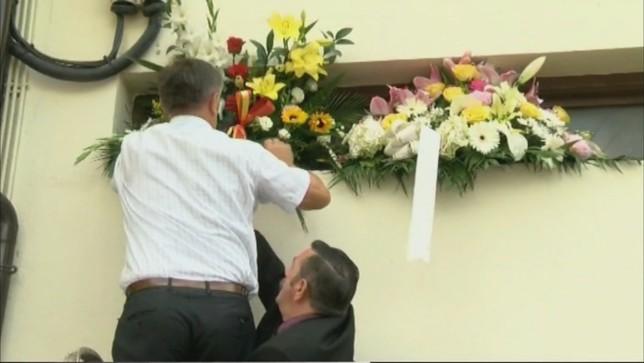 Homenaje a José Javier Múgica, víctima por ETA hace 18 años