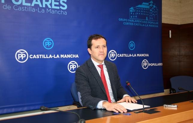 Carlos Velázquez, diputado regional del PP.