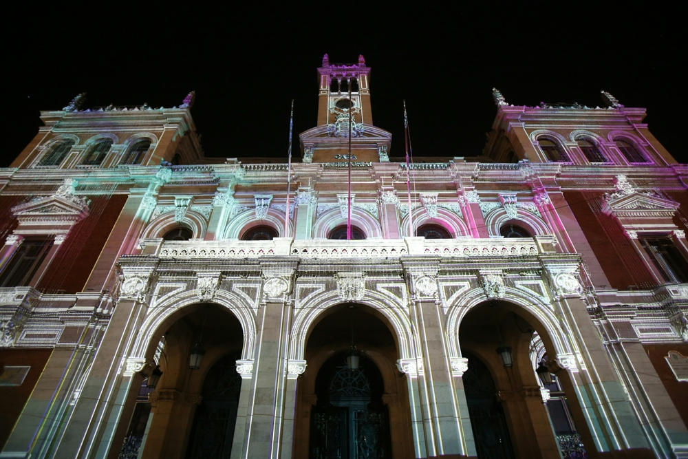Espectáculo de video mapping L.U.X.