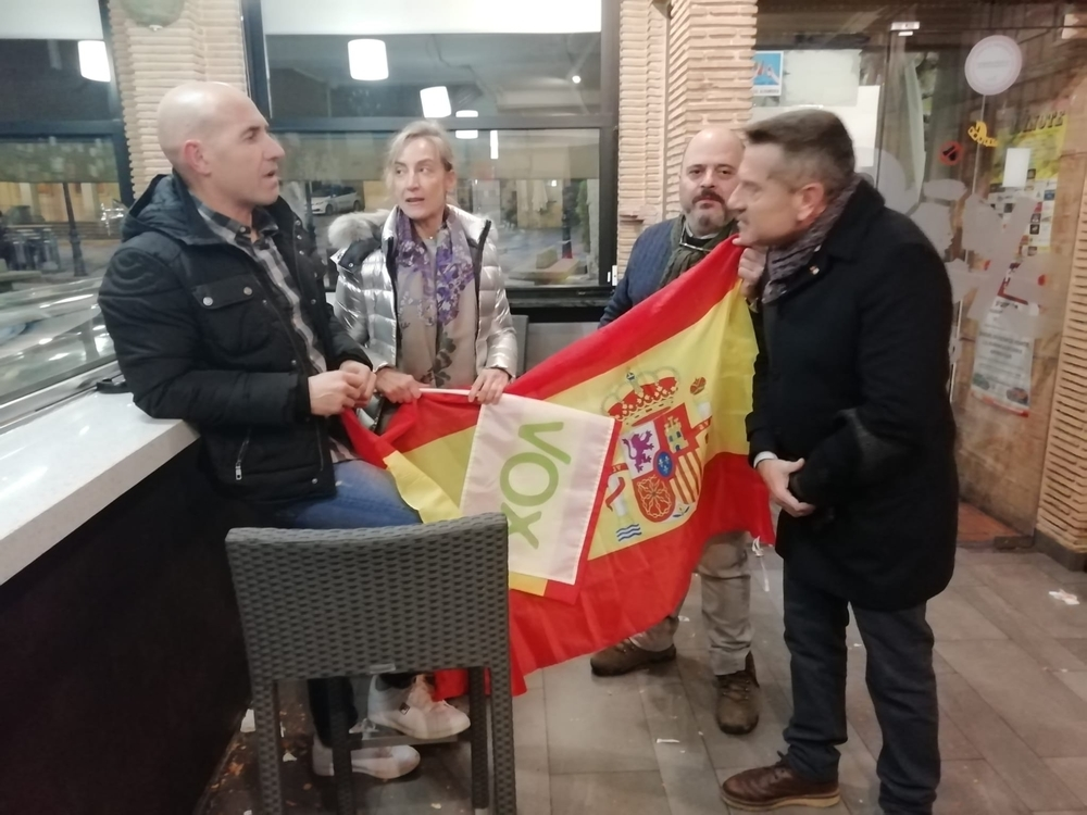 Vox Soria celebra el ascenso de la formación