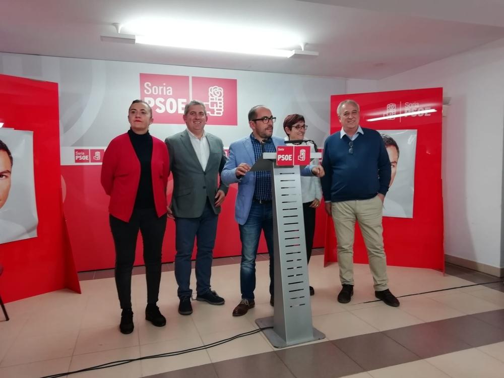 Luis Rey presume de resultados en Soria