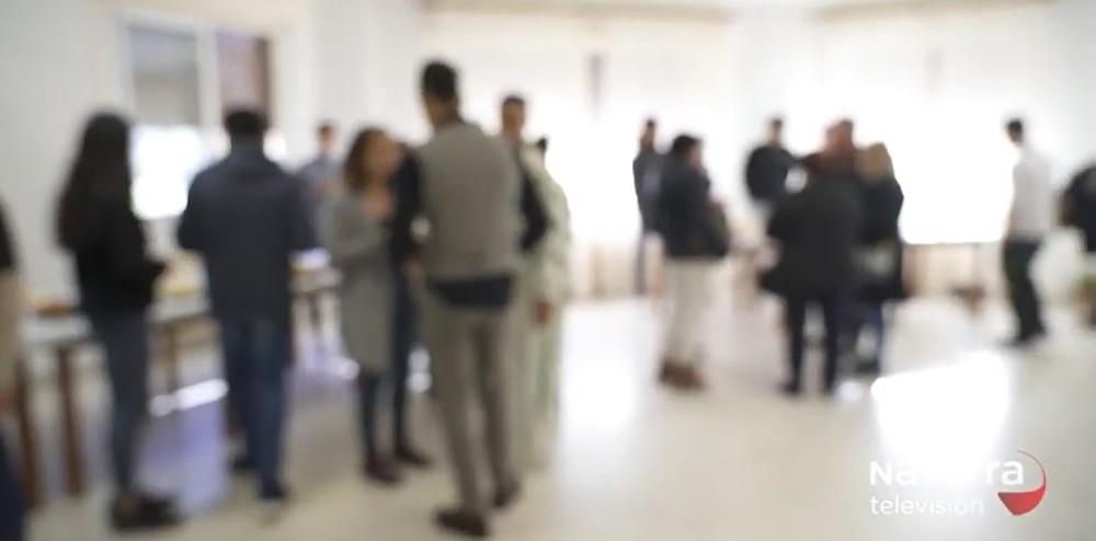 Día de puertas abiertas en el centro de MENAS en Marcilla