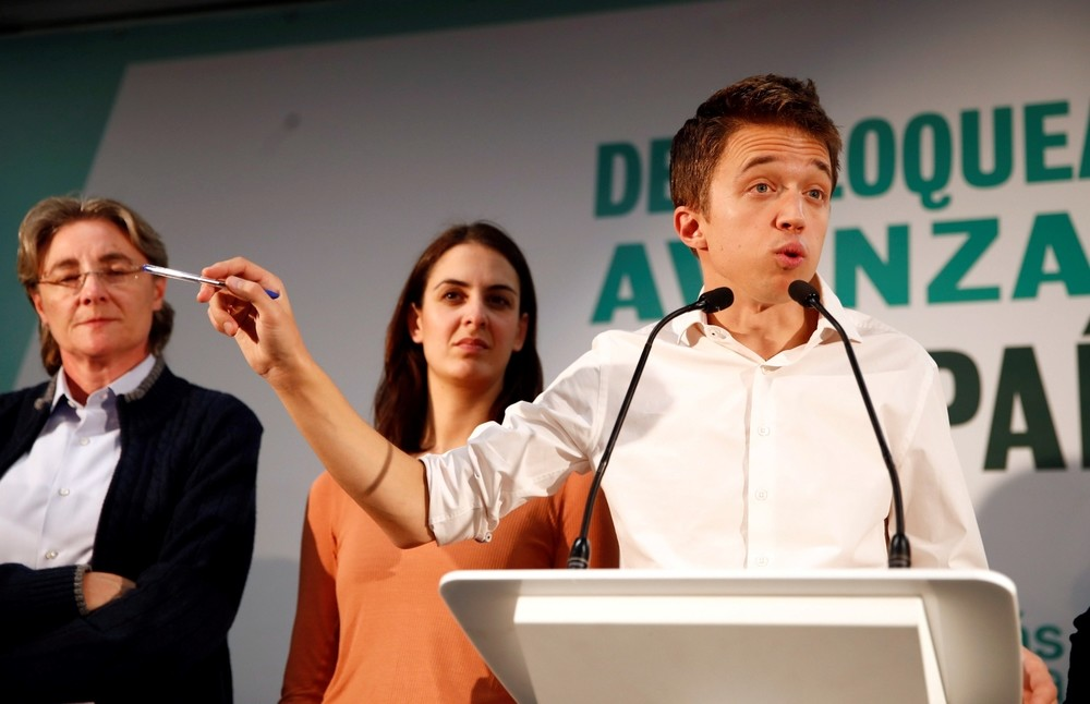 Errejón llama a formar Gobierno progresista