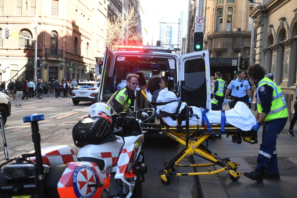 Multiple people stabbed in Sydney