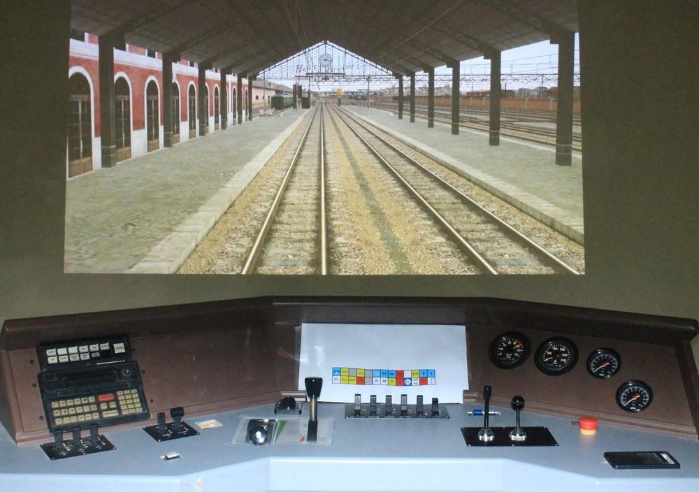 Asvafer ofrece un similuador de conducción de locomotoras