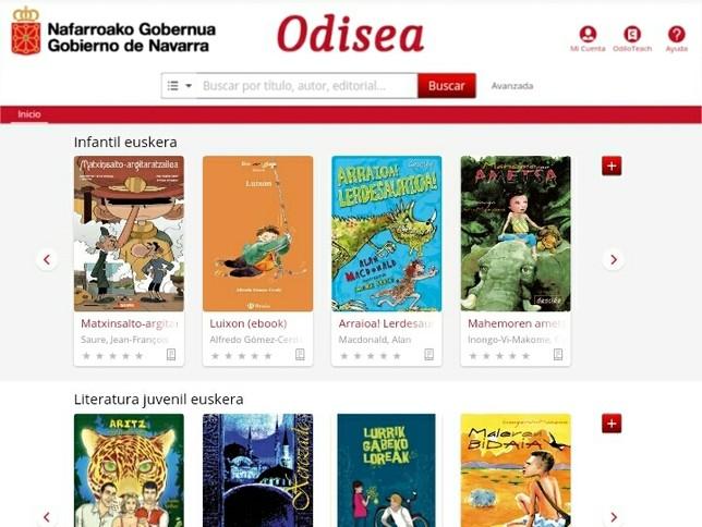 El alumnado navarro tiene acceso a 5.000 libros virtuales