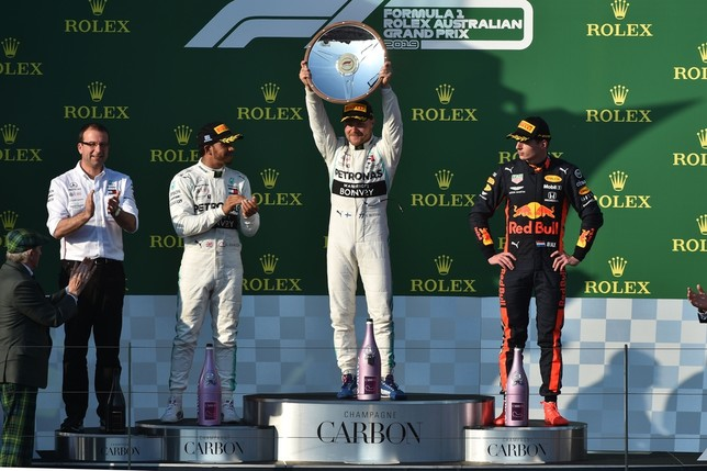 Bottas sorprende en Albert Park JAMES ROSS
