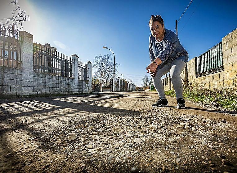 Valladolid mantiene calles sin asfaltar en hasta 20 zonas