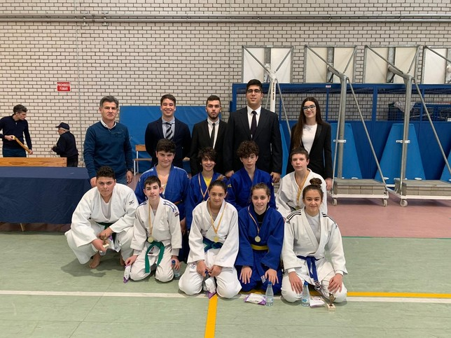 Más de 300 judokas en el Torneo de Aldeamayor
