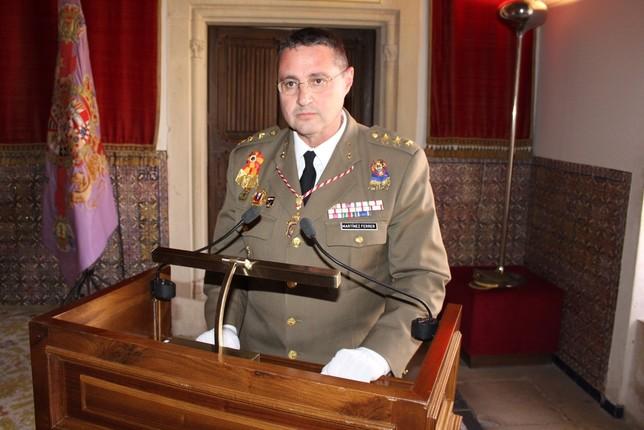 El coronel Martínez Ferrer