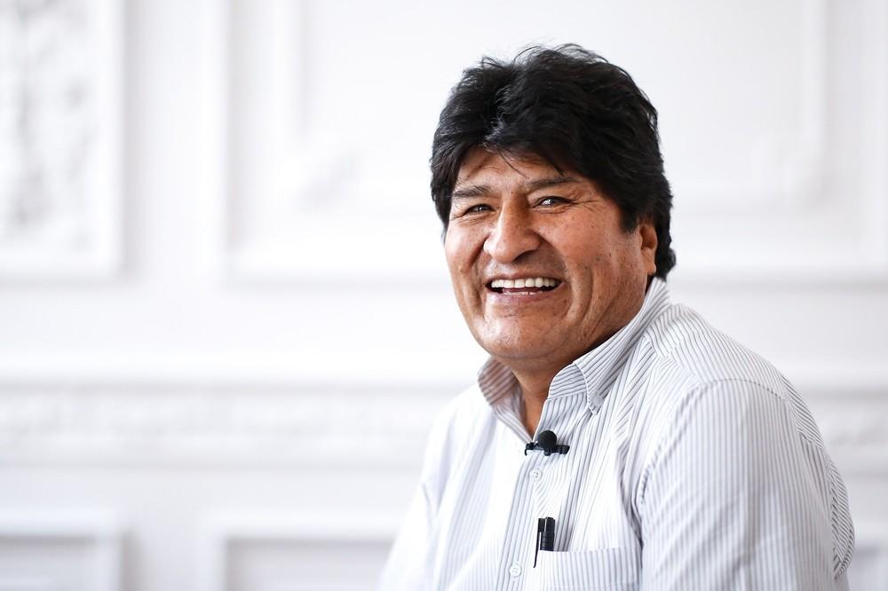 Evo Morales marcha con las Madres de Plaza de Mayo en Argentina