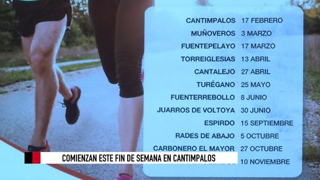 El domingo arranca la XV edición de las Carreras Pedestres