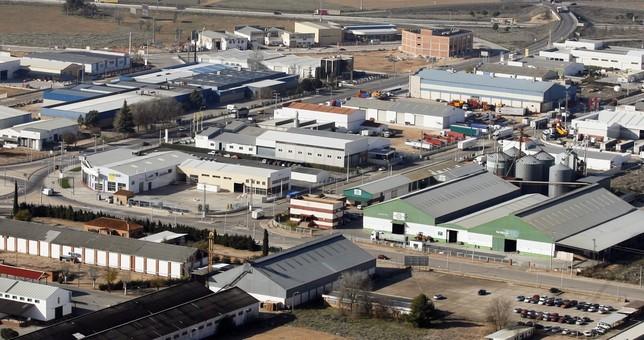 Un polígono industrial de Manzanares. Rueda Villaverde
