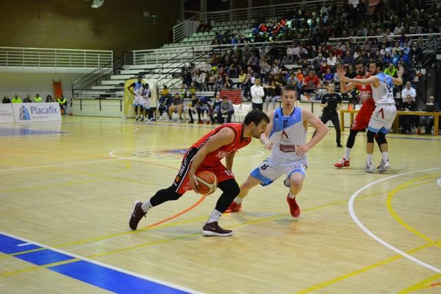 Partido decisivo de Basket Navarra en Azpeitia Iñaki Martínez