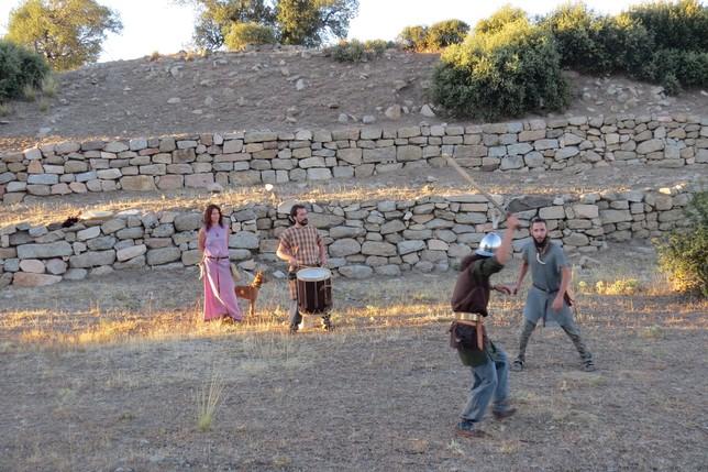 Vettones: El resurgir de la cultura celta. Recreación de una batalla, en el castro de La Mesa de Miranda (Chamartín)