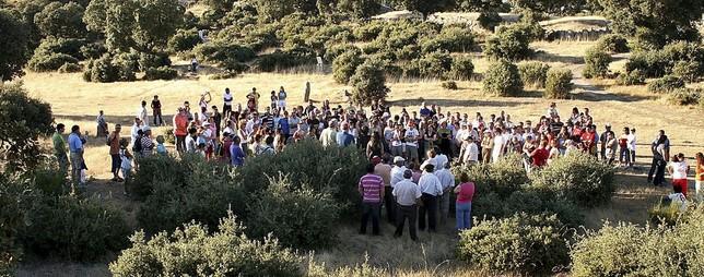 Vettones: Una de las visitas guiadas al castro chamartino de La Mesa de Miranda