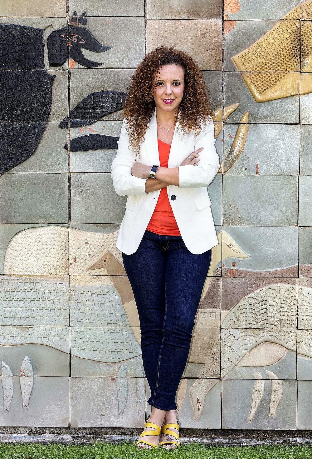 Noemí Otero, diputada provincial y concejala del Ayuntamiento de Segovia