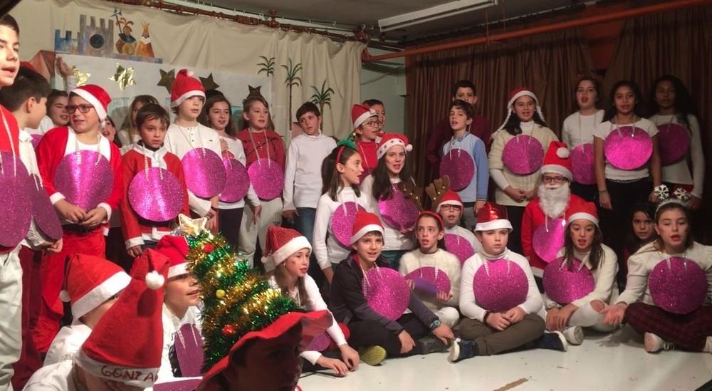 El CEIP San Fernando canta a la Navidad