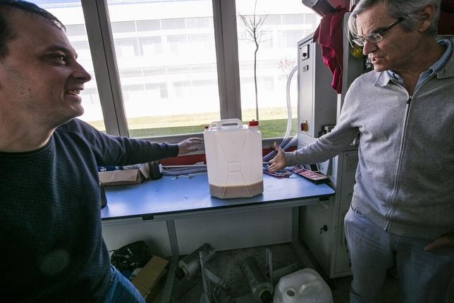 Analizan crear biodiésel a partir de residuos vinícolas Rueda Villaverde