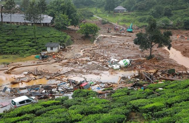 Un millar de muertos en India por las lluvias monzónicas