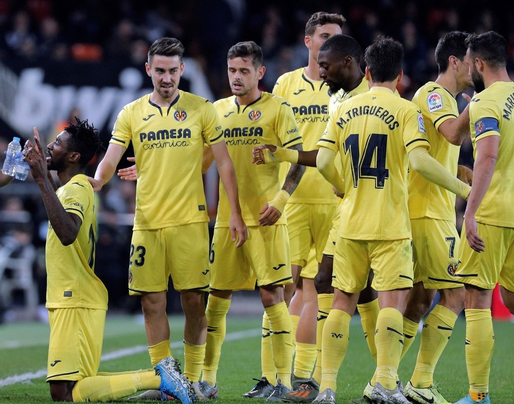 La contra del Valencia acaba con el Villarreal