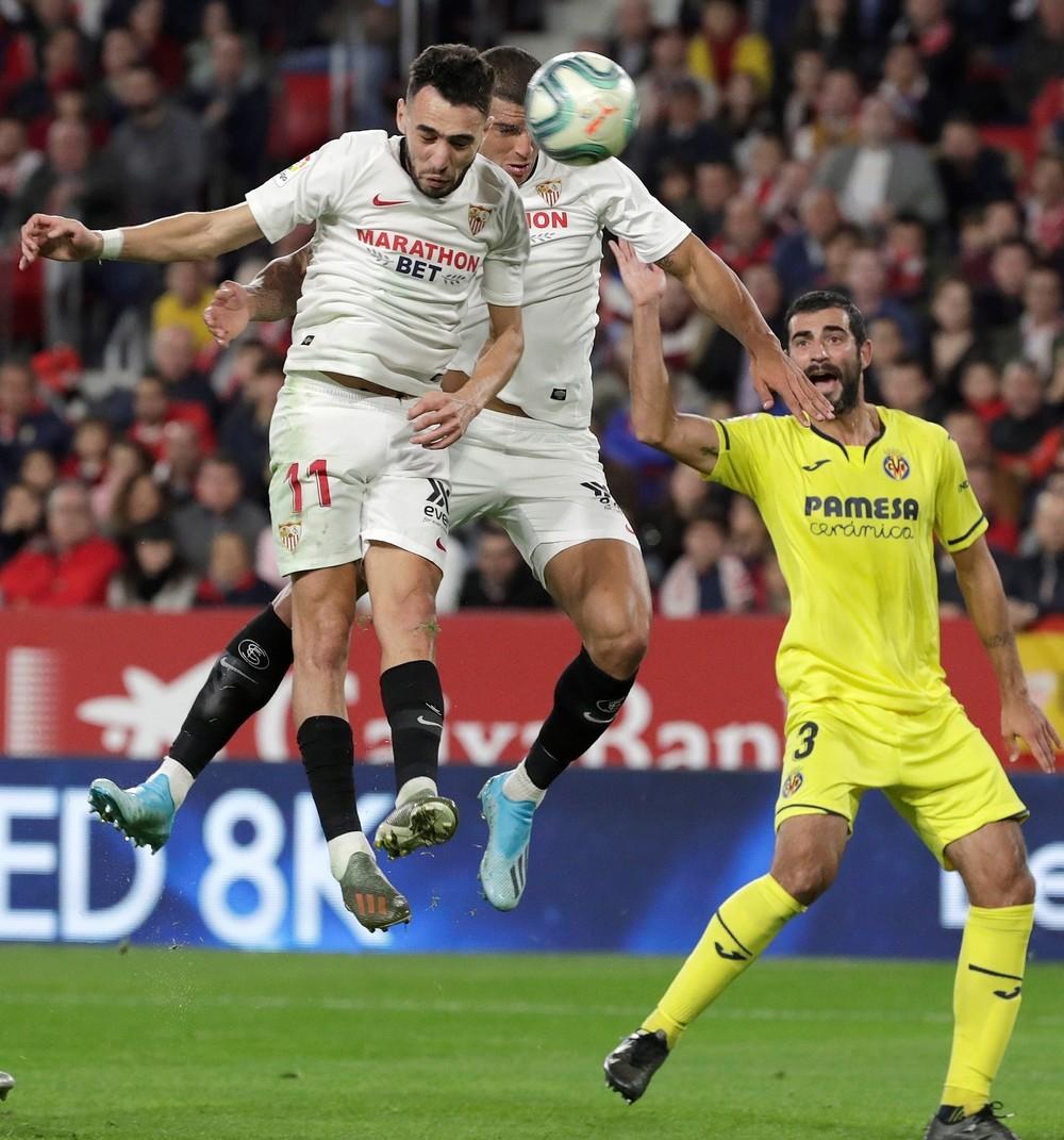El Villarreal se da un respiro y frena en seco al Sevilla