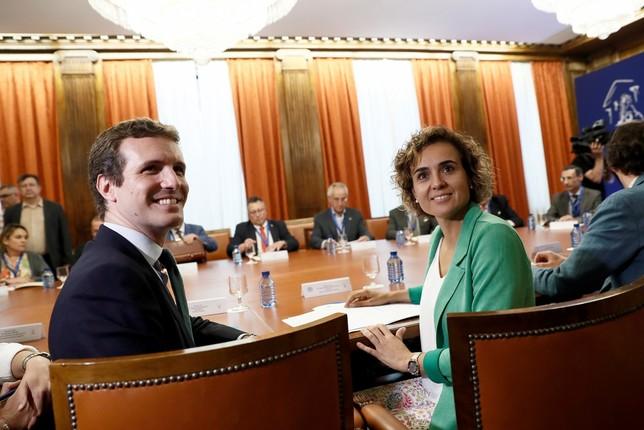 Casado pone a Montserrat como cabeza de lista a las europeas