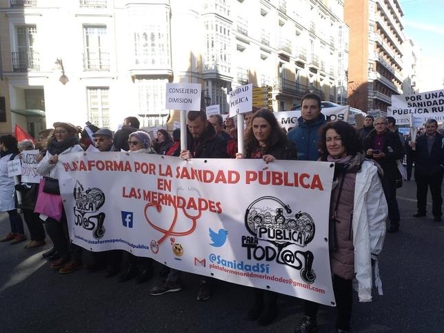 Burgos hace oír sus exigencias por una sanidad digna