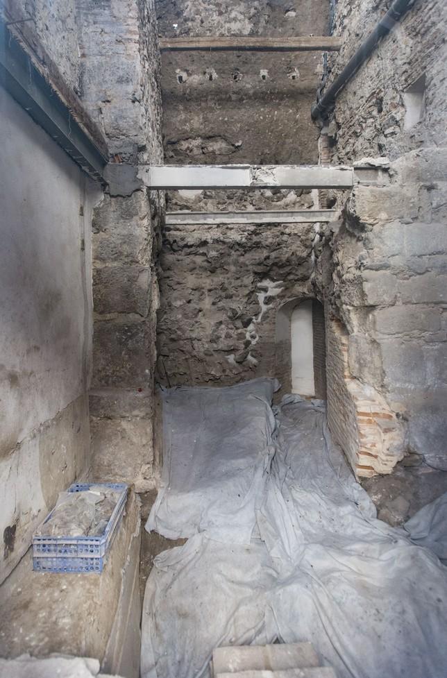 La muralla a través de un 'artilugio' VÁctor Ballesteros