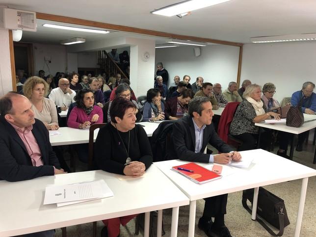 Clara Luquero presenta una lista