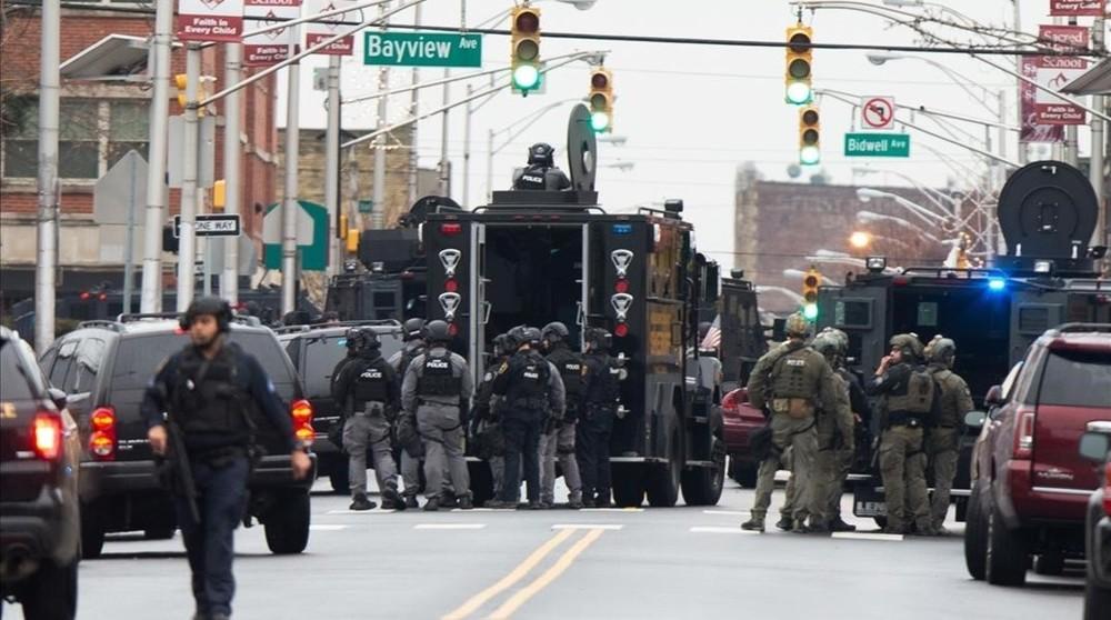 6 muertos en un tiroteo en un supermercado de Nueva Jersey