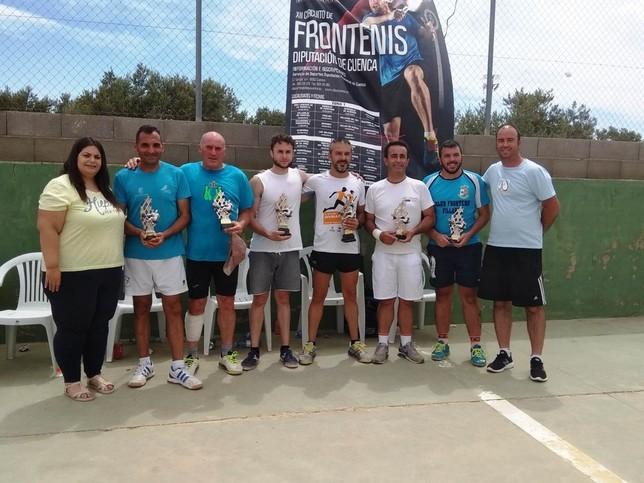 El XII circuito de Frontenis celebró su octava jornada