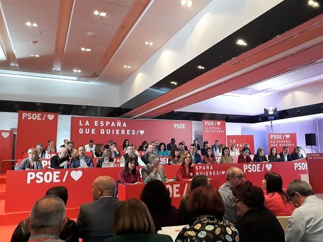Reunión del Comité Federal del PSOE D.S.