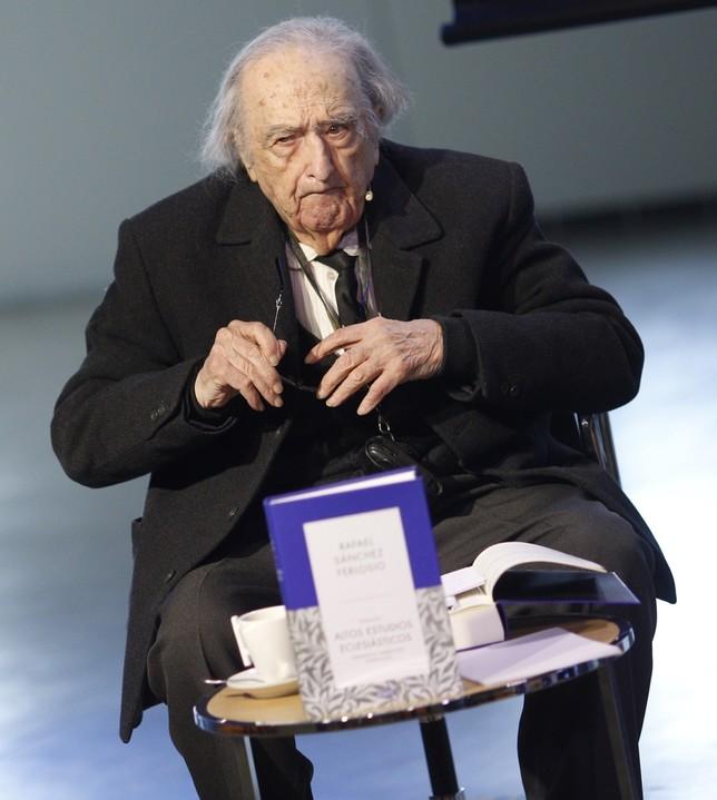 Fallece el escritor Rafael Sánchez Ferlosio EUROPA PRESS