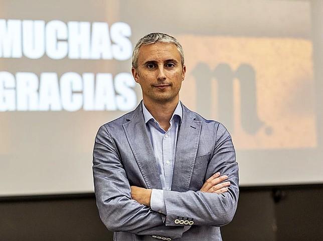 Marc Borreda, director de la planta de Mahou San Miguel de Alovera.