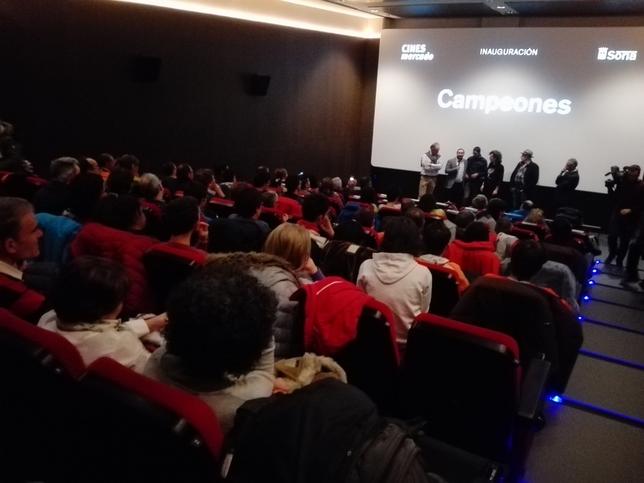 Campeones y Sanfelices centran la apertura de los cines