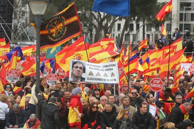 Clamor en Madrid contra el Gobierno de Sánchez Ricardo Rubio - Europa Press