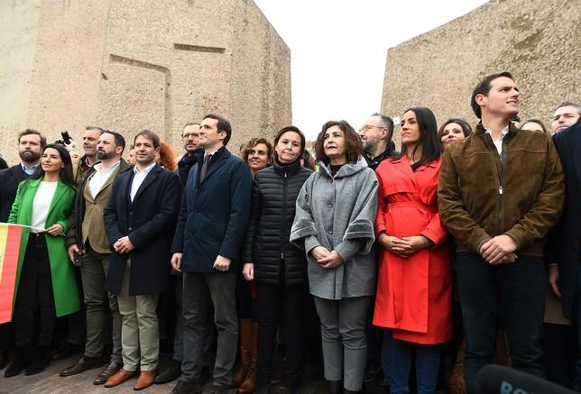 Clamor en Madrid contra el Gobierno de Sánchez Fernando Villar