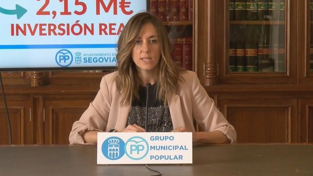 """Fernández: """"No son los presupuestos que necesita Segovia Susana Cordero"""