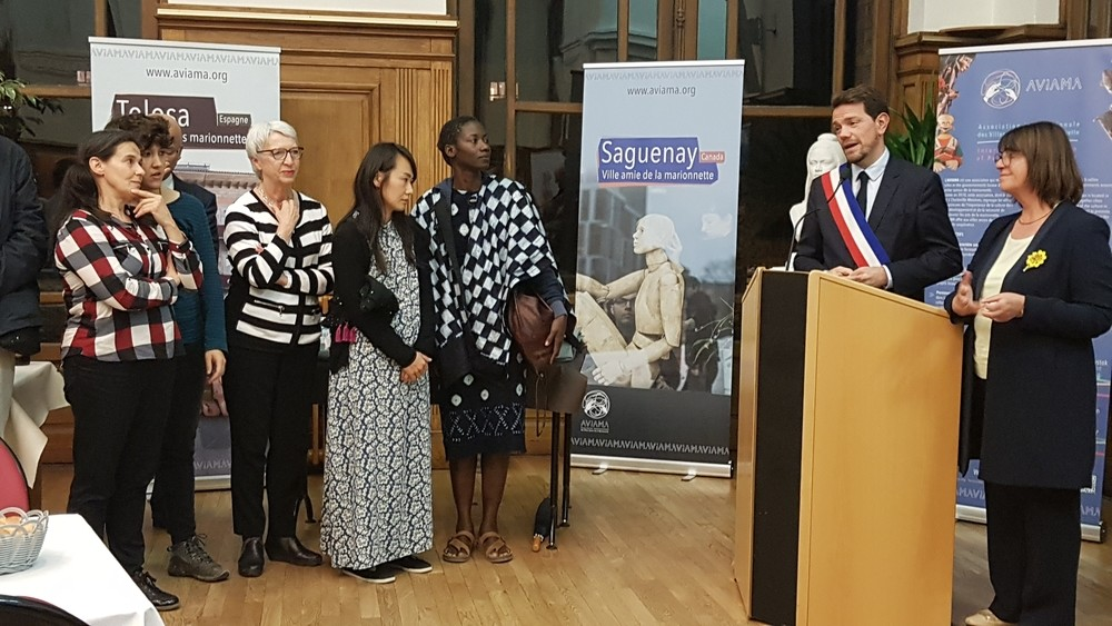 Segovia, con la asociación internacional de la marioneta