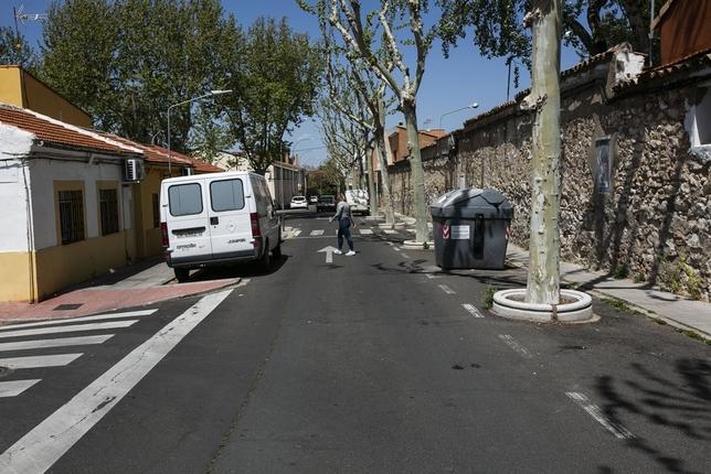 Invierten 300.000 euros en la zona de Puerta de Santa María
