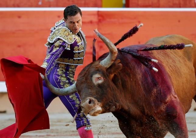 Los Miura cierran con poca raza la feria de San Fermín