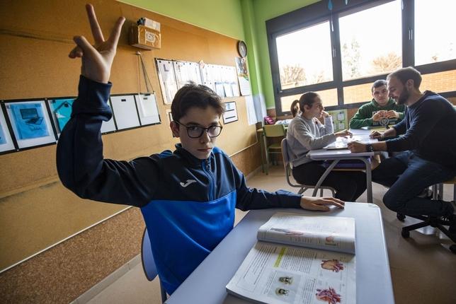 La futura educación inclusiva podría llegar a medio millar Rueda Villaverde