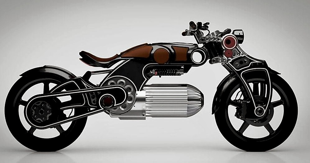 Curtiss Hades: una moto hecha para disparar